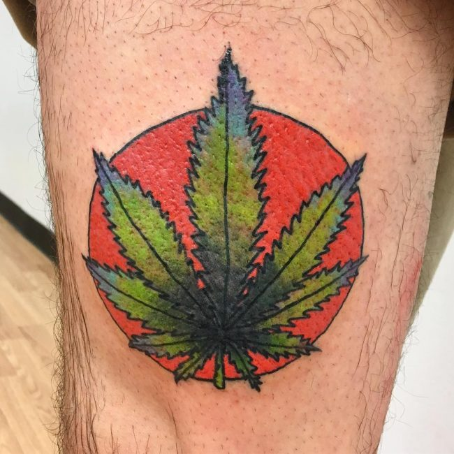 Weed Tattoo 44