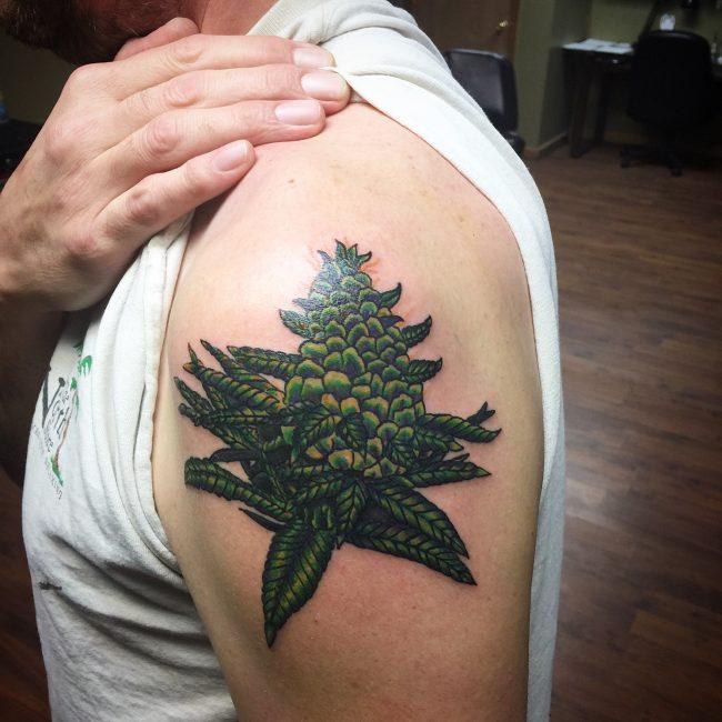 Weed Tattoo 47