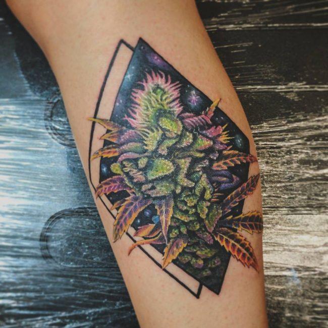 Weed Tattoo 48