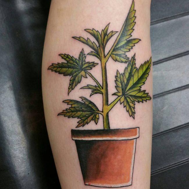 Weed Tattoo 49