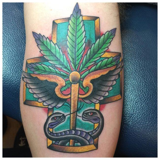 Weed Tattoo 50