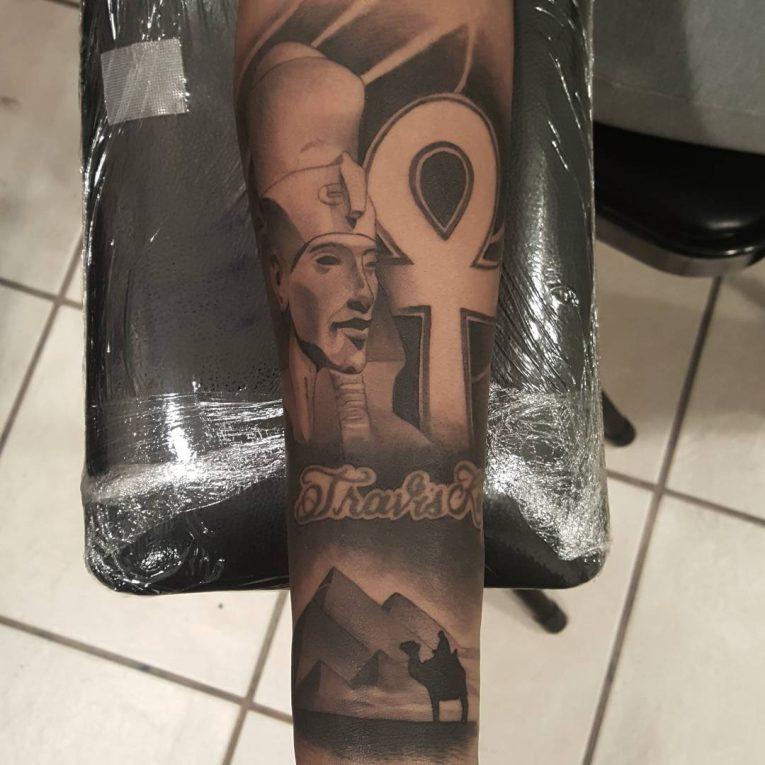 Ankh Tattoo 77