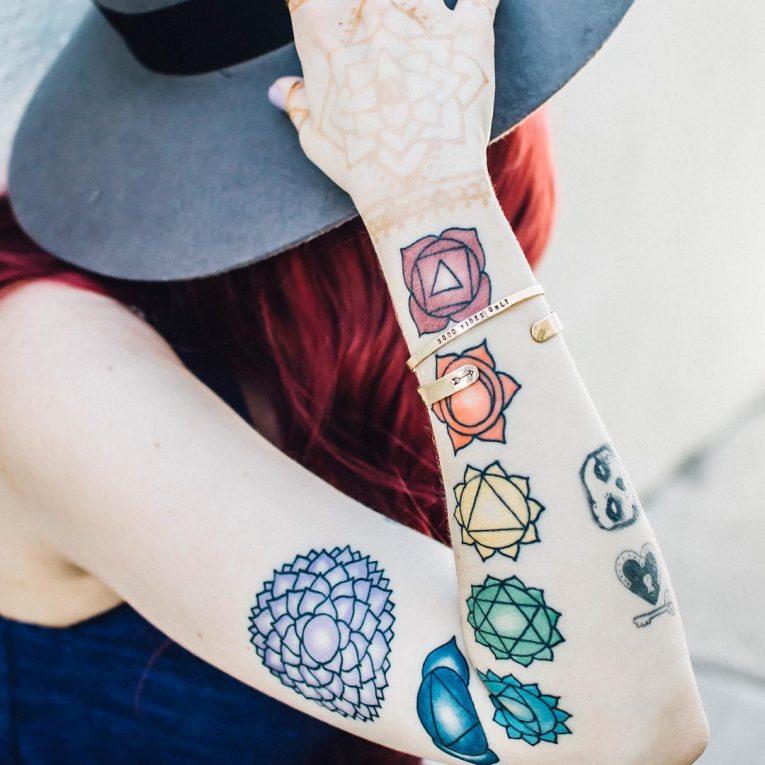 Chakra Tattoo 57