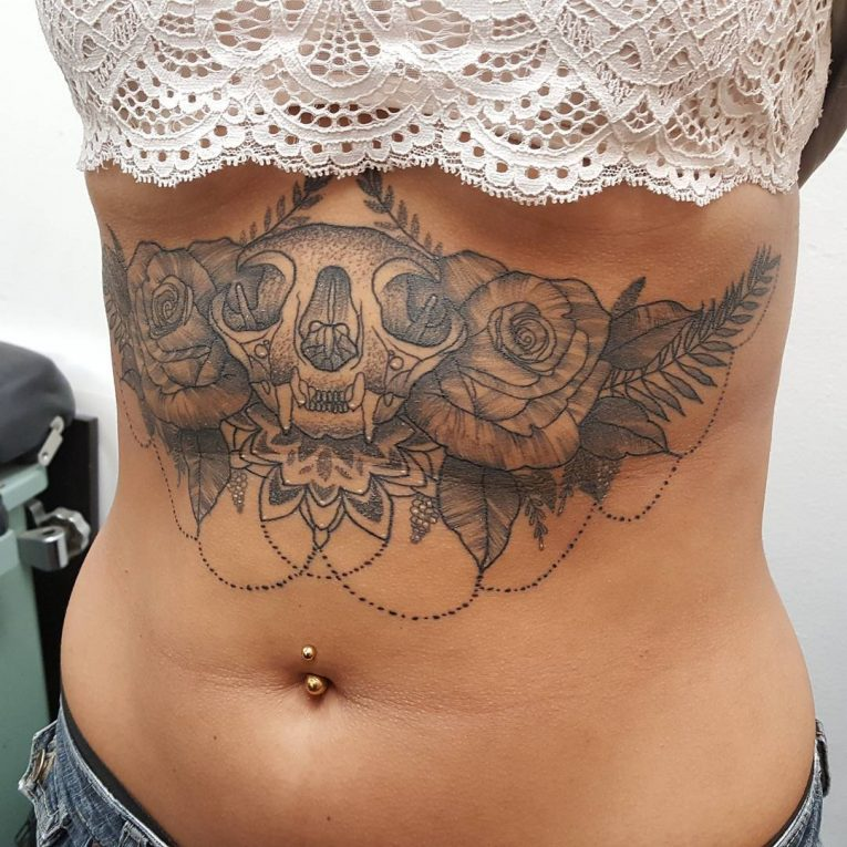 Sternum Tattoo 71
