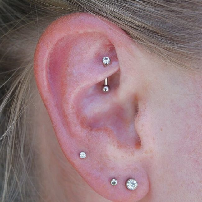 Cartilage Piercing 27