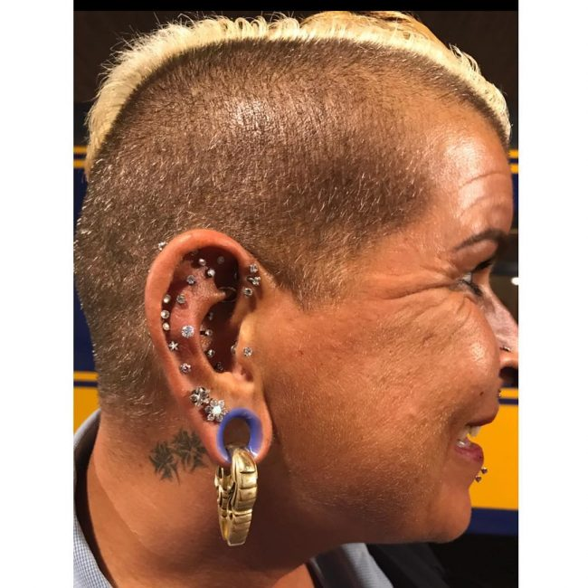 Cartilage Piercing 35