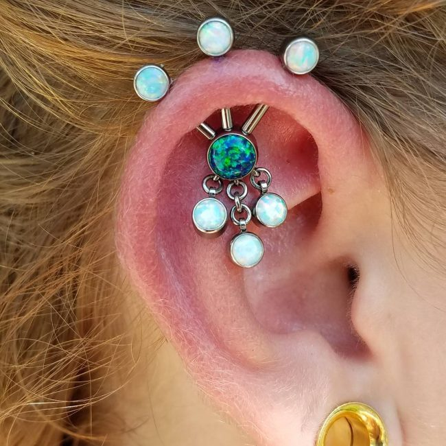 Cartilage Piercing 48