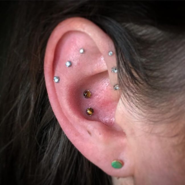 Cartilage Piercing 55