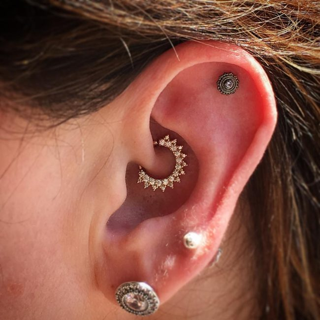 Cartilage Piercing 56