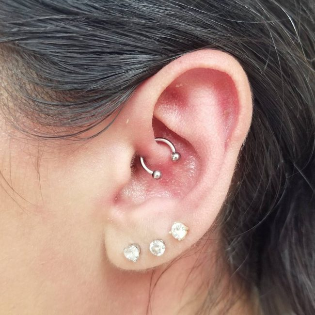 Cartilage Piercing 58
