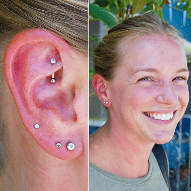 Cartilage Piercing 6