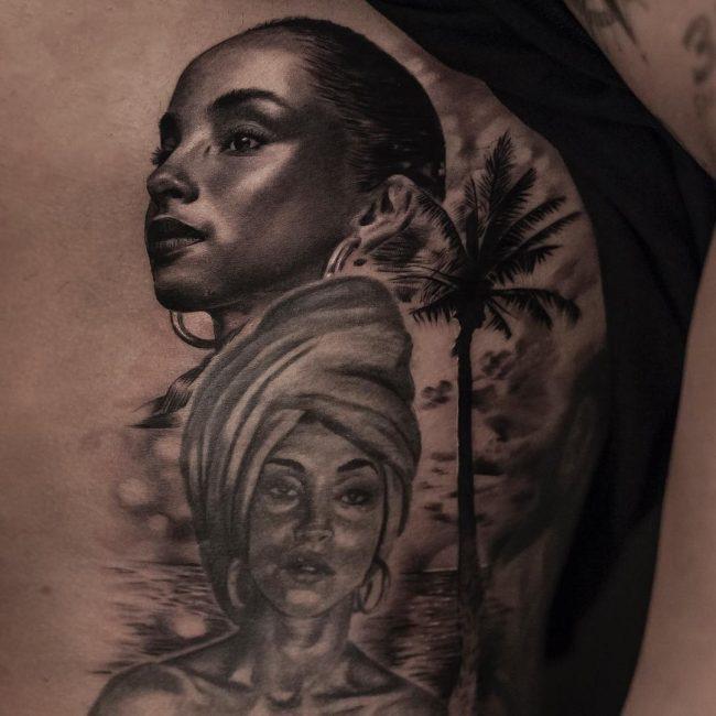 Drake's Tattoos 12