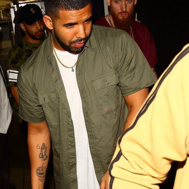 Drake's Tattoos 23