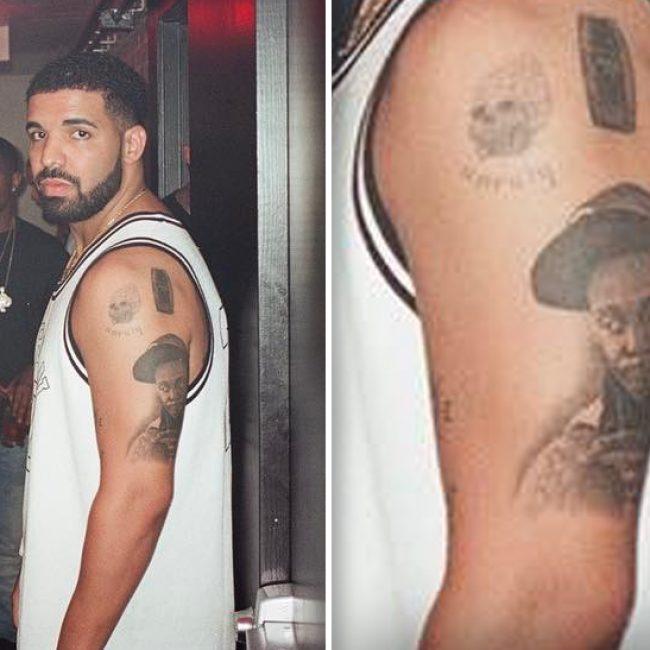 Drake's Tattoos 26