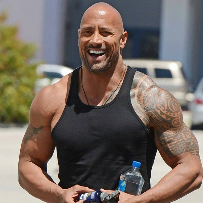 Dwayne Johnson's Tattoo 1