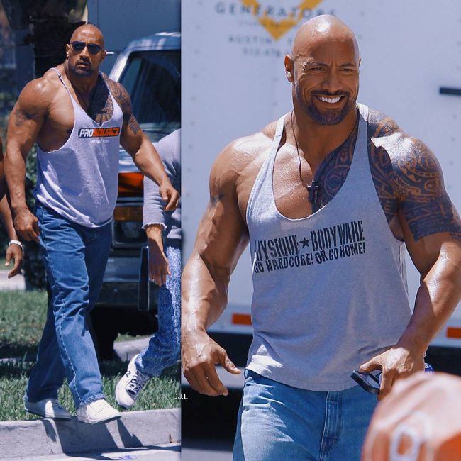 Dwayne Johnson's Tattoo 12