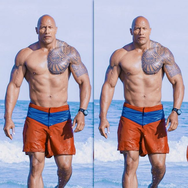 Dwayne Johnson's Tattoo 13