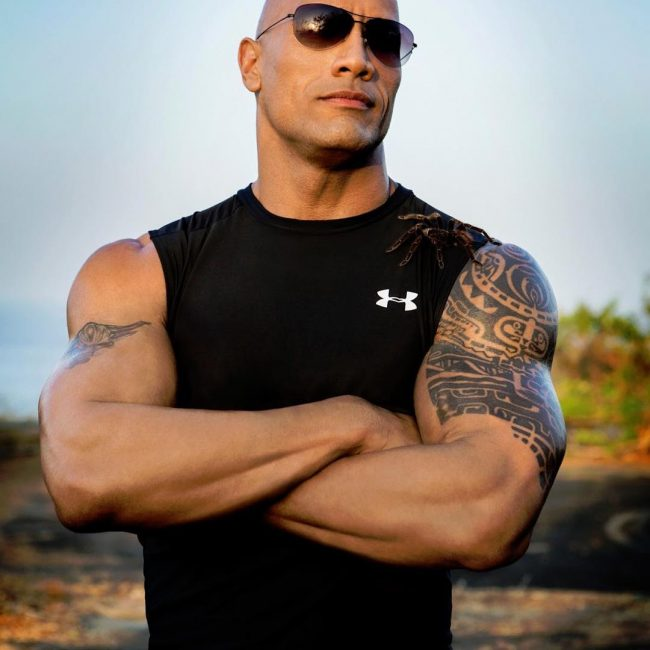 Dwayne Johnson's Tattoo 15