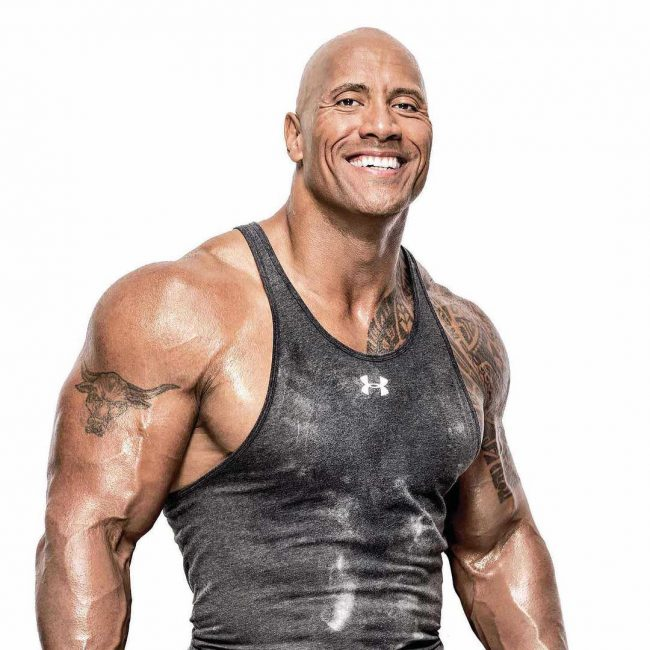 Dwayne Johnson's Tattoo 16