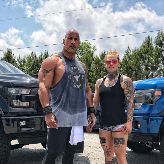 Dwayne Johnson's Tattoo 17