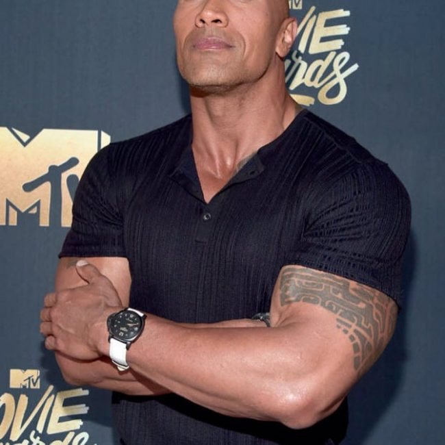 Dwayne Johnson's Tattoo 18
