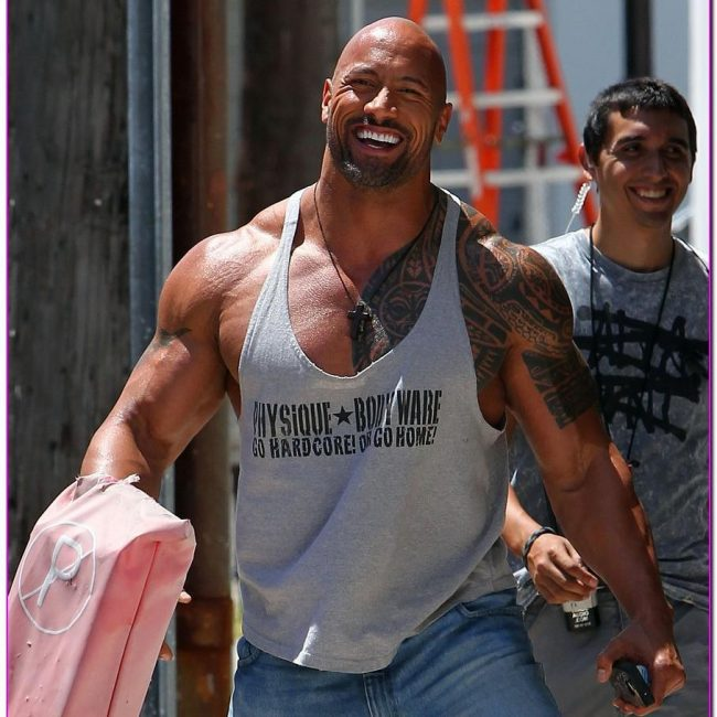 Dwayne Johnson's Tattoo 19