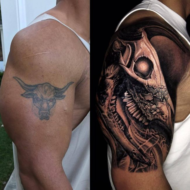 Dwayne Johnson's Tattoo 20