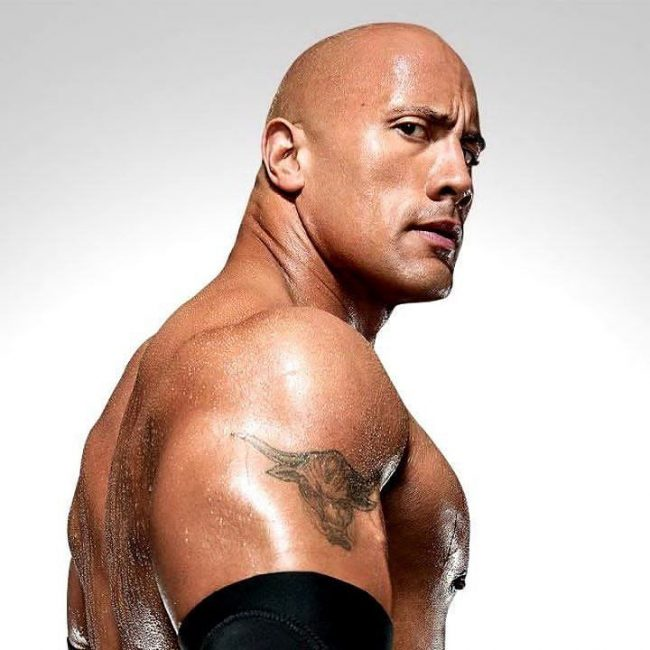 Dwayne Johnson's Tattoo 21
