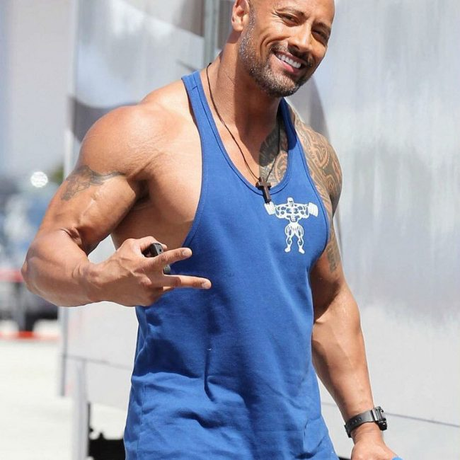 Dwayne Johnson's Tattoo 23