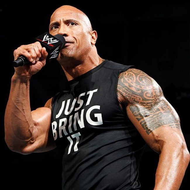 Dwayne Johnson's Tattoo 28