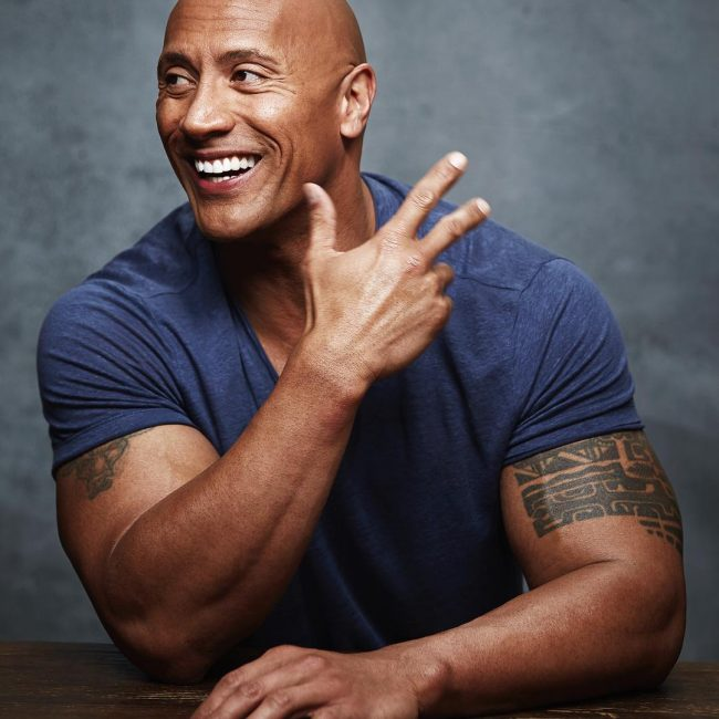 Dwayne Johnson's Tattoo 3