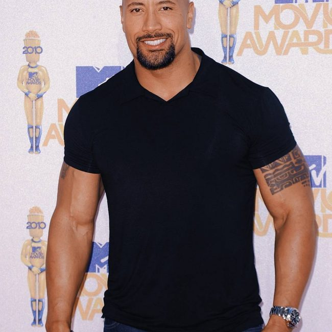 Dwayne Johnson's Tattoo 30