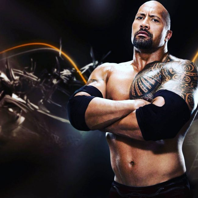 Dwayne Johnson's Tattoo 4