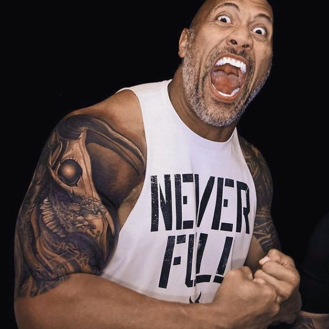 Dwayne Johnson's Tattoo 8