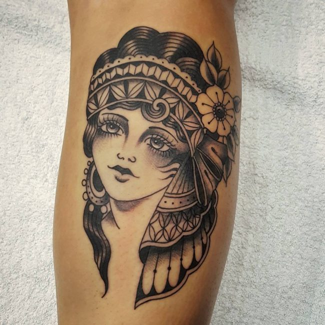 Tattoo Woman Gypsy: 65 Enchanting Gypsy Tattoos