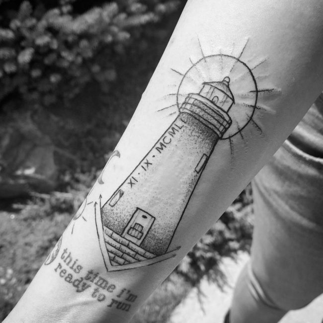 Lighthouse Tattoo 102
