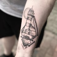 Lighthouse Tattoo 122