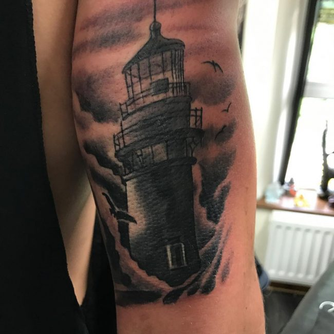 Lighthouse Tattoo 18