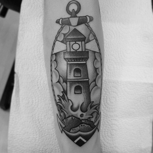 Lighthouse Tattoo 37