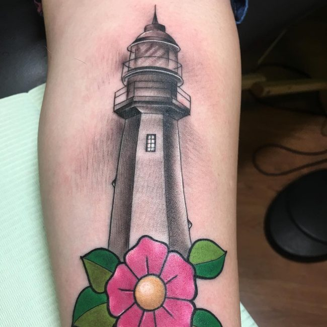 Lighthouse Tattoo 4