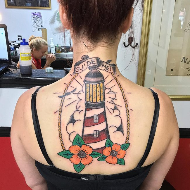 Lighthouse Tattoo 45