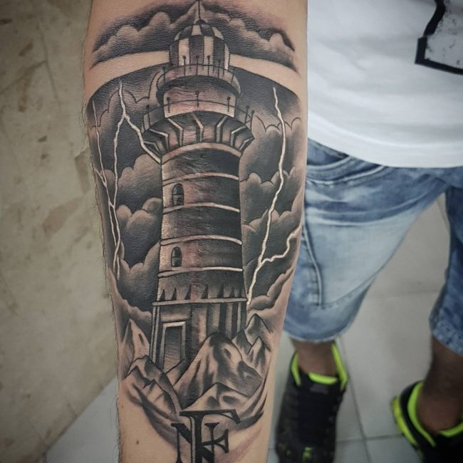 Lighthouse Tattoo 53