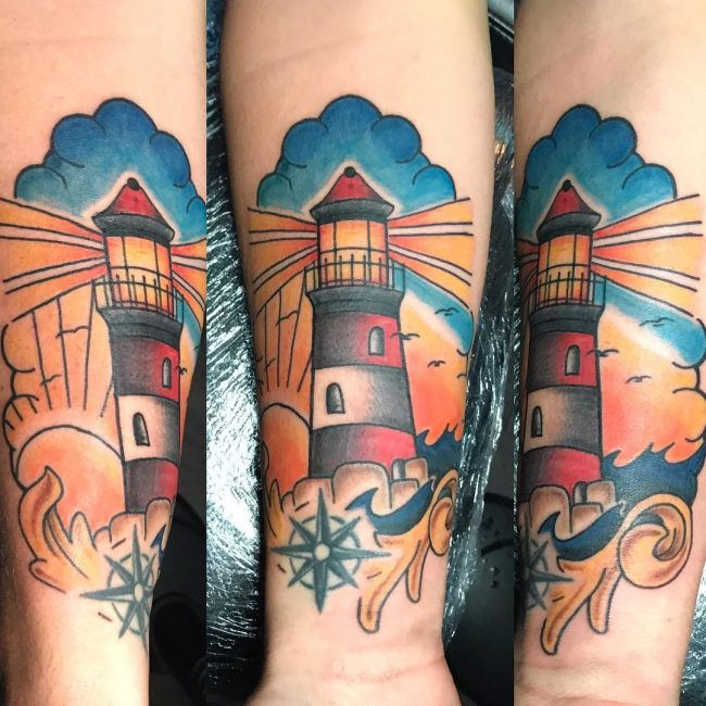 Lighthouse Tattoo 62