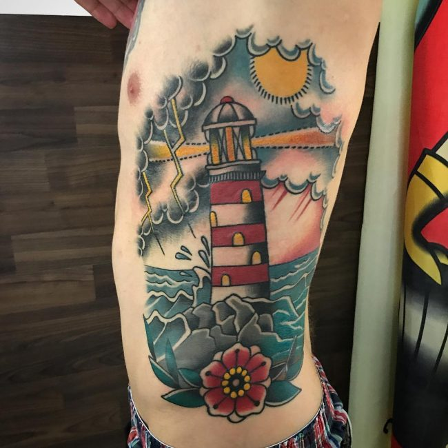 Lighthouse Tattoo 64