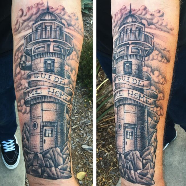 Lighthouse Tattoo 74