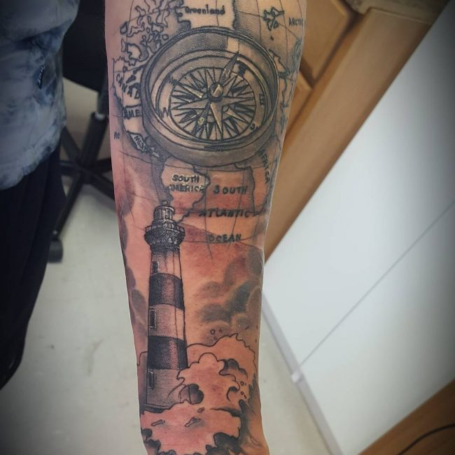 Lighthouse Tattoo 79