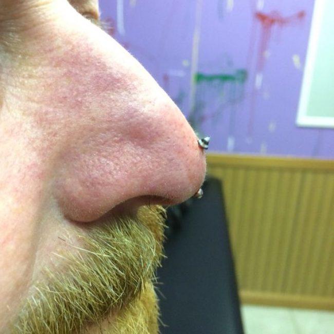 Nose Piercing 4