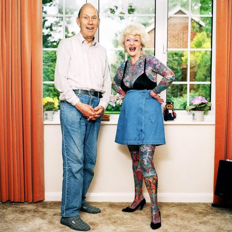 Old People with Tattoos 13