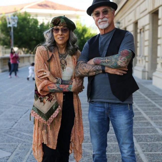 Old People with Tattoos 14