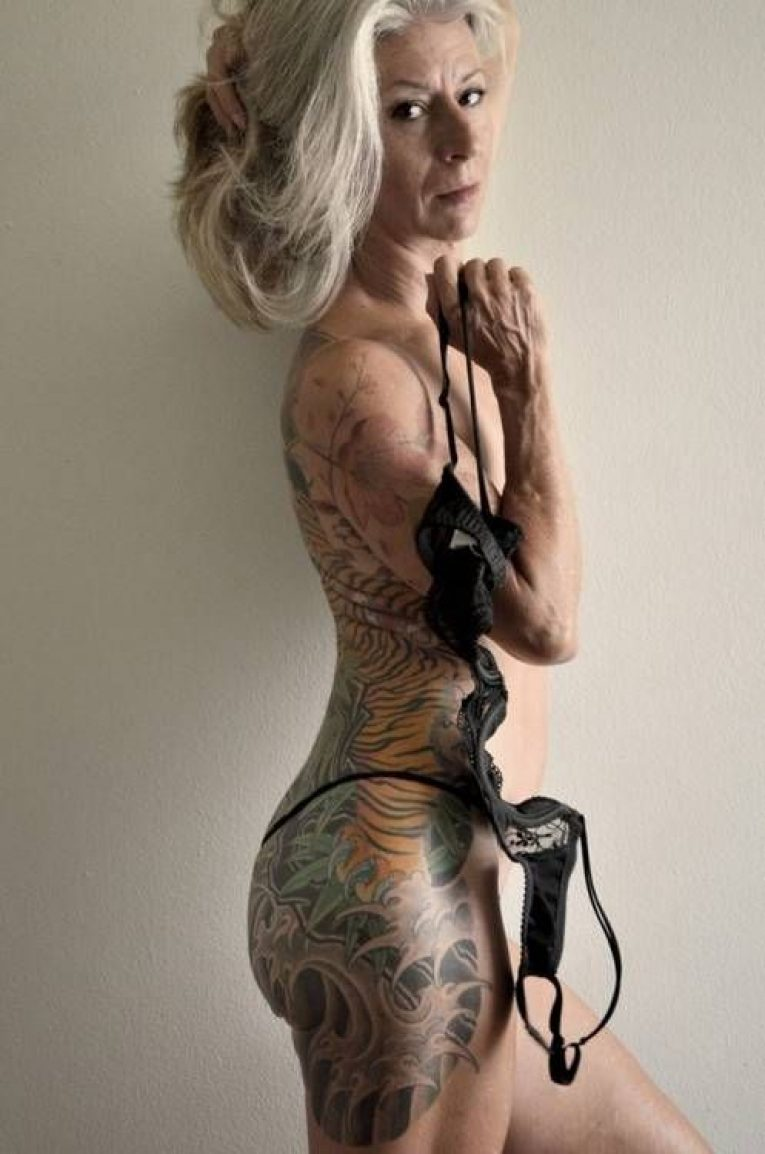 Old People with Tattoos 16